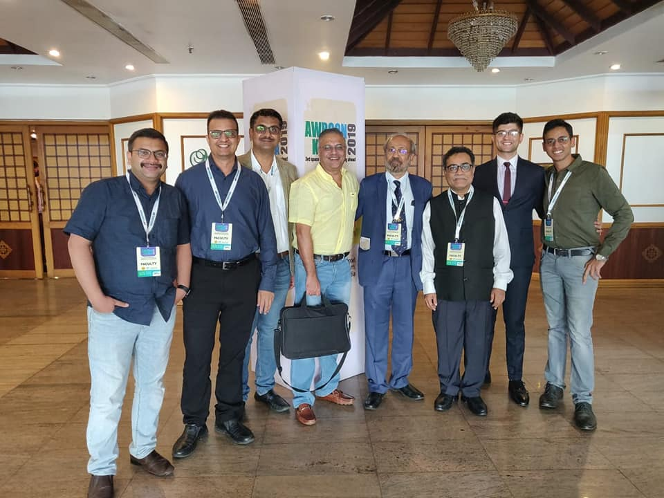 On Robotic Complex Hernia Surgery at AWRCON 2019